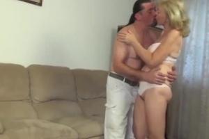 Sex enkel oma mit Schranzige oma